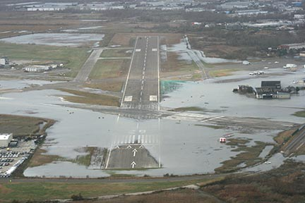 flooded Airport