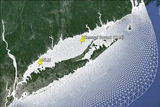CREST grid map