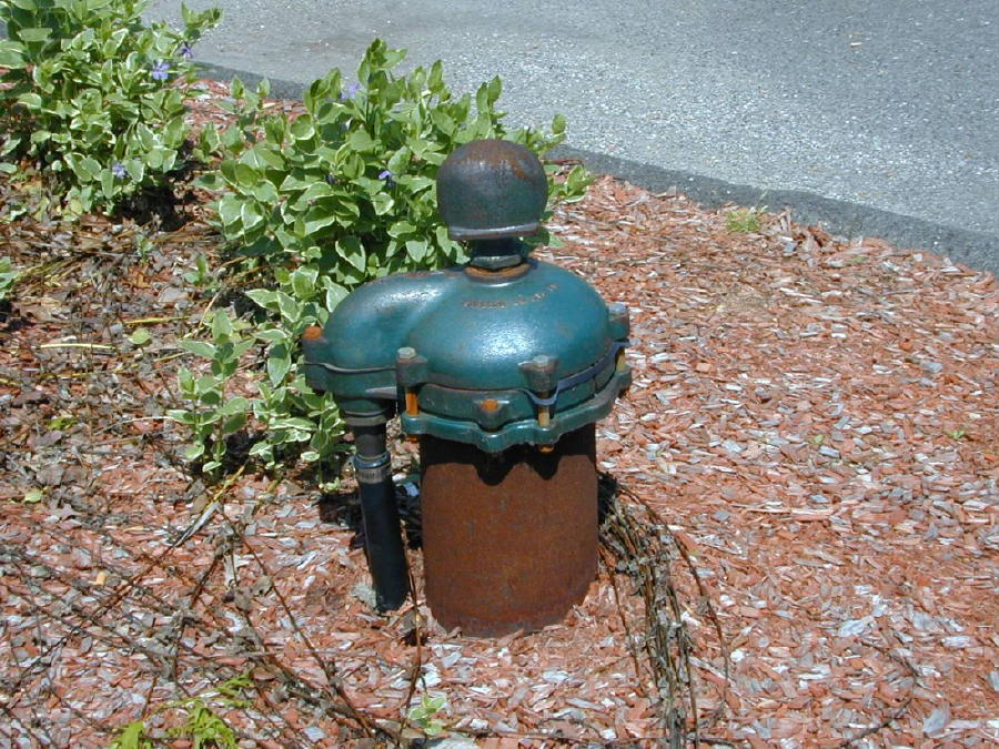 Private Well Cap, Photo: Ridgefield Health Department