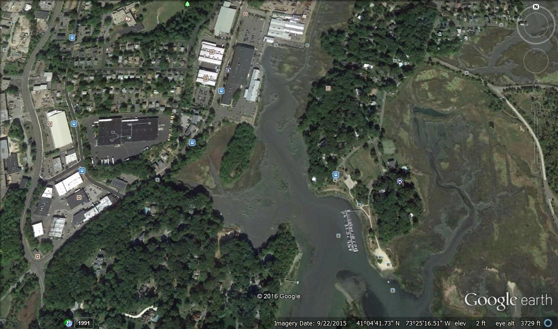 Norwalk Land Trust Google Earth